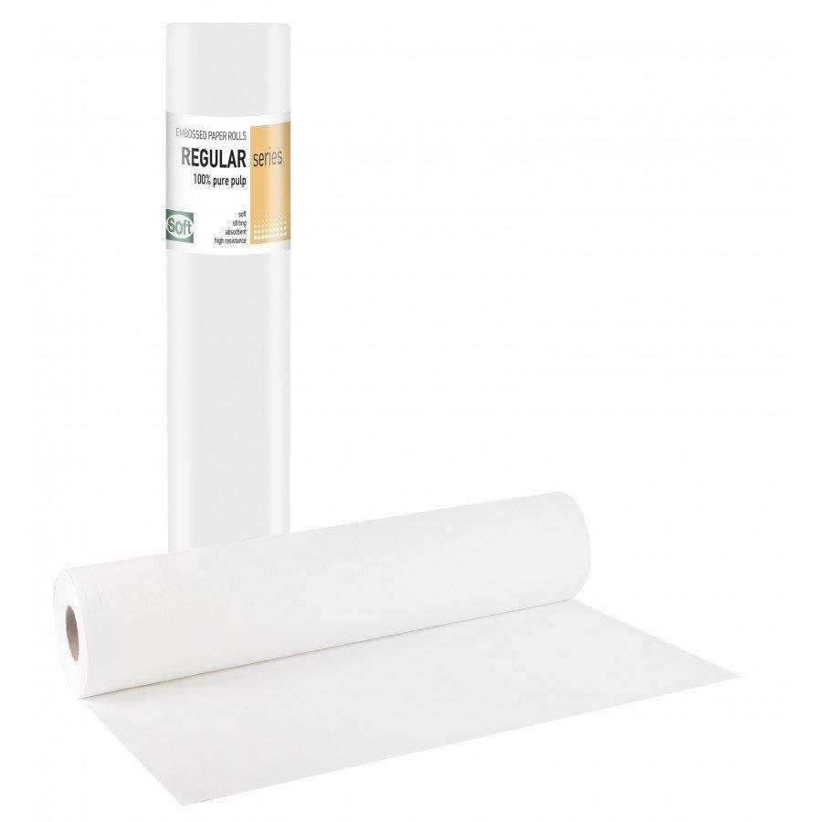 Χάρτινο δίφυλλο με κόλλα γκοφρέ 50εκ x 50μ. (12 τεμάχια)