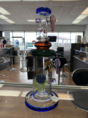 """Metric Waterpipe With Marbles 11"""""""
