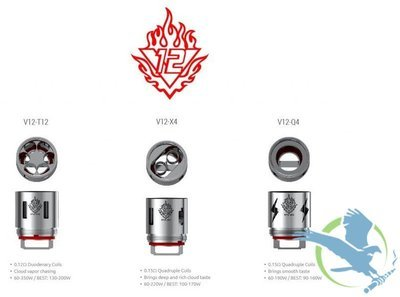 SMOK TFV12 TANK REPLACEMENT COILS - PACK OF 3