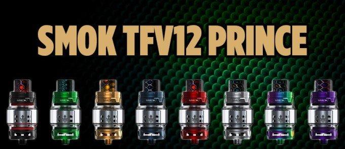 SMOK TFV12 PRINCE 8ML SUB OHM TANK
