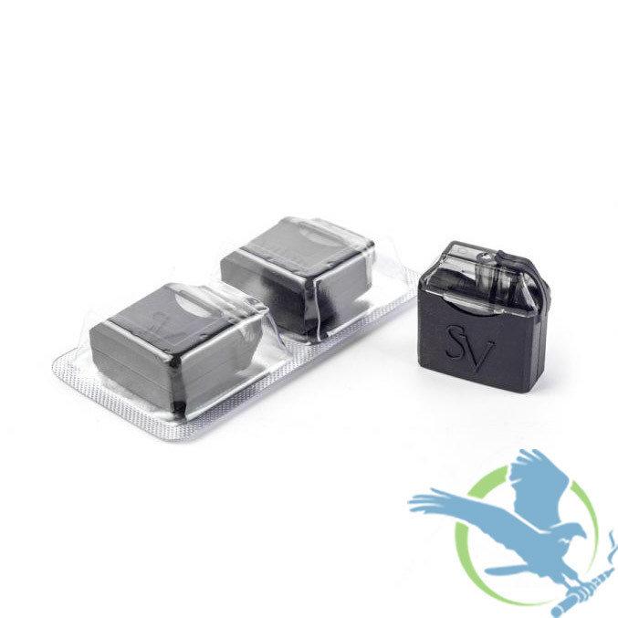 SMOKING VAPOR MI-POD REPLACEMENT REFILLABLE PODS - PACK OF 2