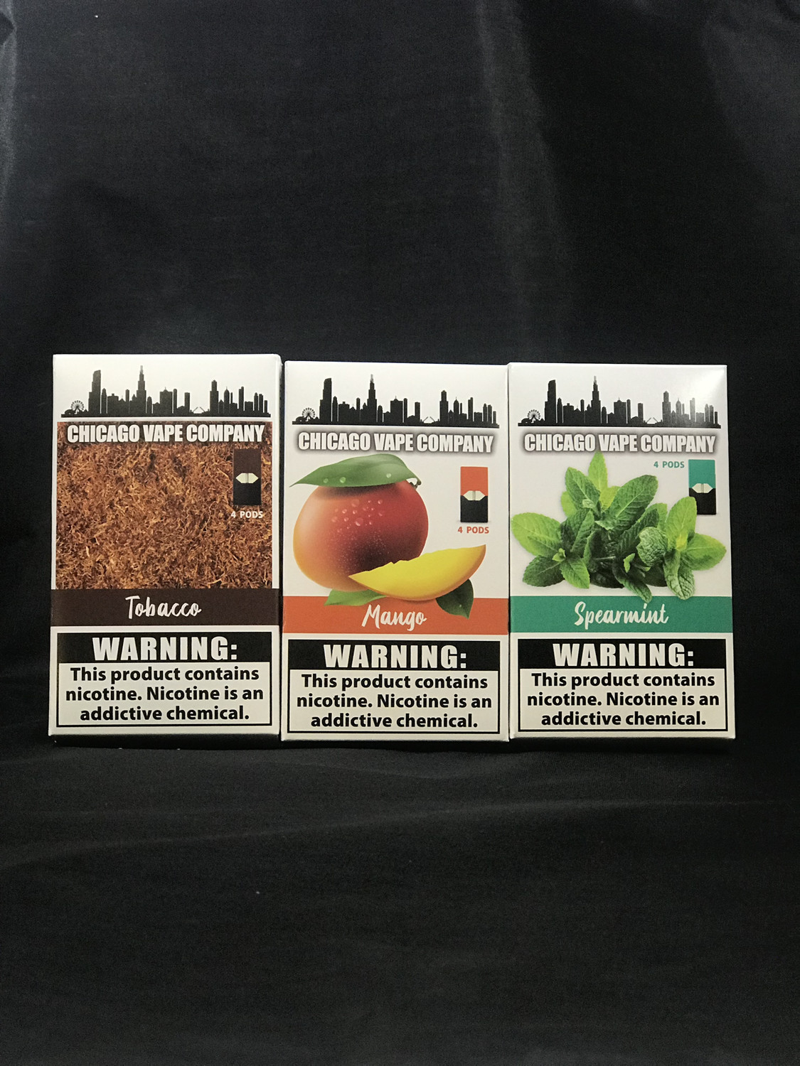 Chicago Vape Company Pods for Juul