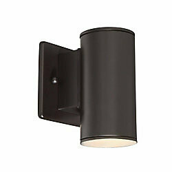 Home Decorators Collection Morrilton 40W 1-Light Satin Bronze Integrated LED Outdoor Wall Lantern  HB7083-34