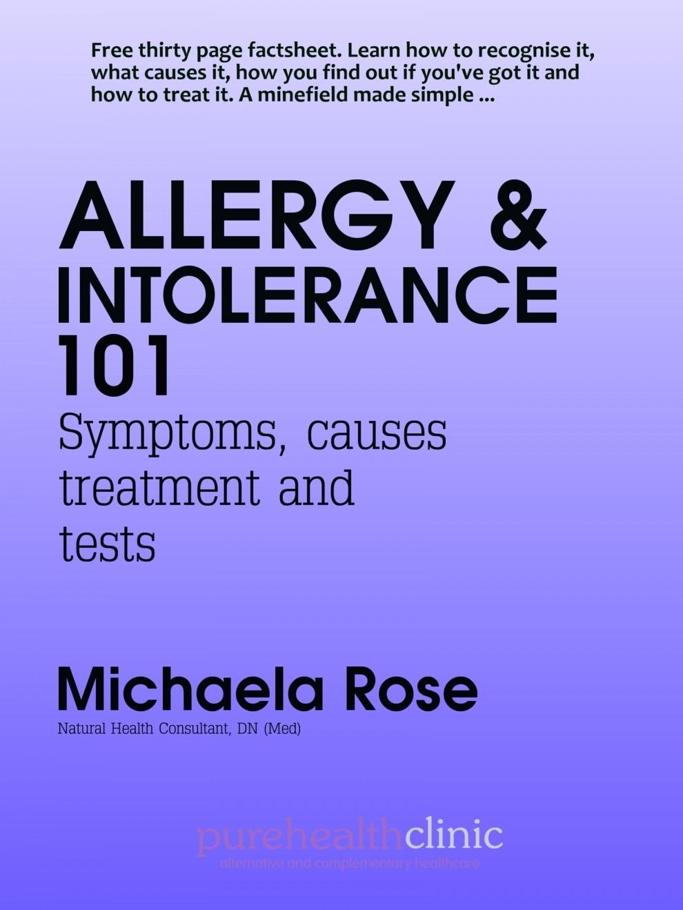 Allergy 101
