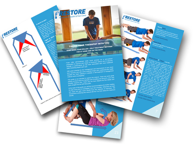 RESTORE Self treatment foam rolling guide SPECIAL PRICE FOR LIMITED TIME ONLY