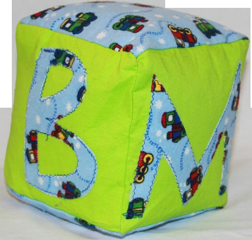 Green Plush Blocks (Boy)