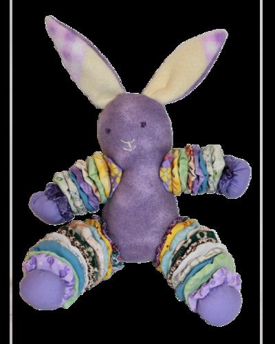 Purple Plush Bunnies (Girl)