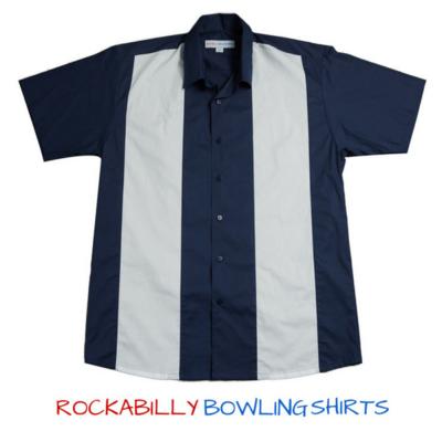 50s Retro Bowling Shirt Roger