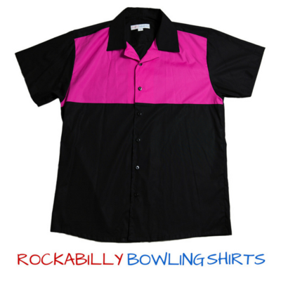 Shirt Keith (Black/Pink)