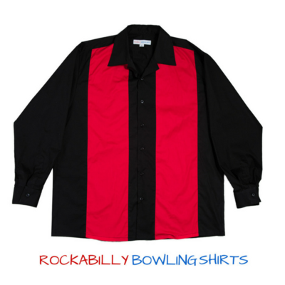 Retro Bowling Shirt RICHARD Long Sleeves