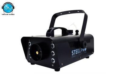 Máquina de Humo 900FG LED RGB STEELPRO