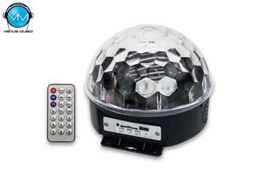 Esfera Bluetooth USB/SD 6 Colores SteelPro 61BT