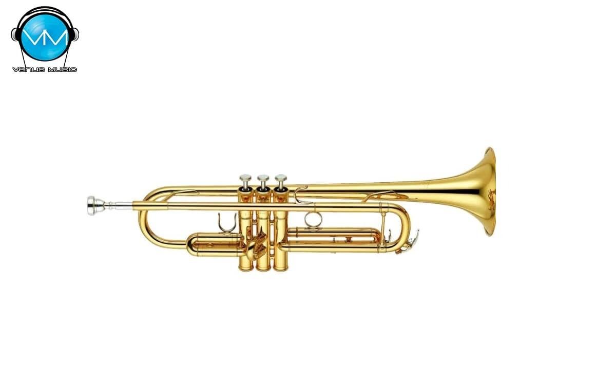 Trompeta Dorada SiB Klingt con Estuche FT-6418L