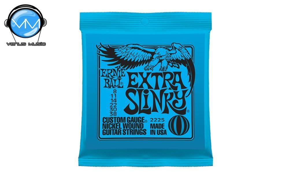Ernie Ball 2225 Extra Slinky Encordadura Guit. Eléctrica