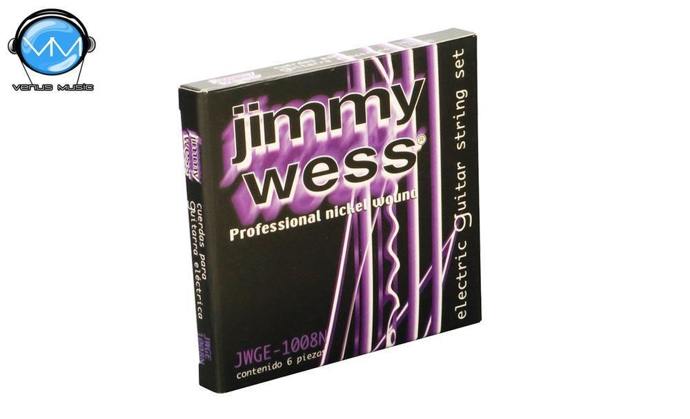 Jimmy Wess WN1008 Encordaduras Guit. Eléctrica