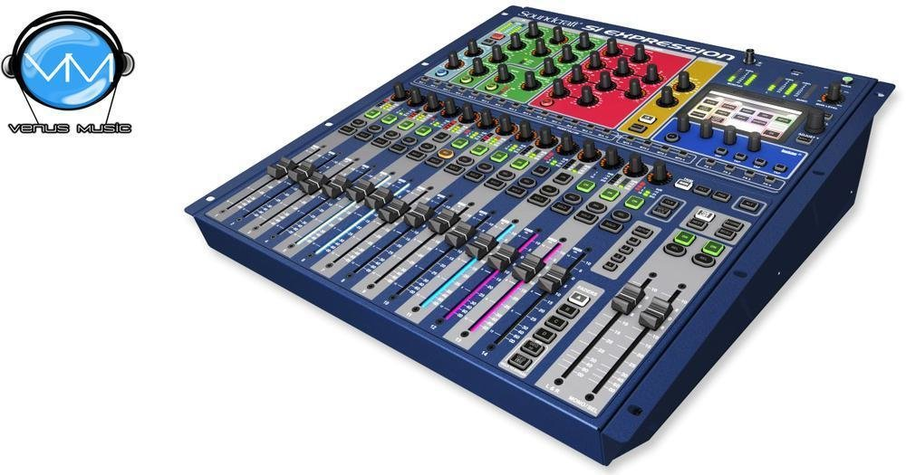 SOUNDCRAFT SI EXPRESSION 1 CONSOLA DIGITAL 16 CANALES