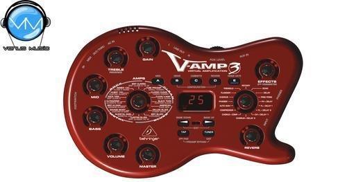 VIRTUAL AMPLIFICATION BEHRINGER V-AMP3