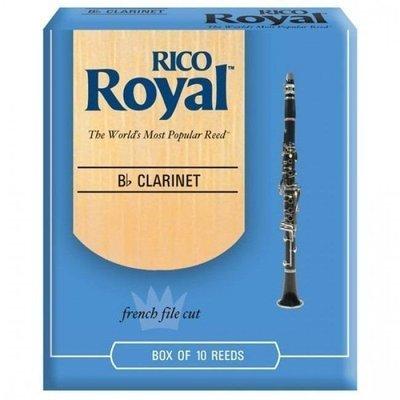 Caña p/clarinete Bb Rico Royal #3 1/2
