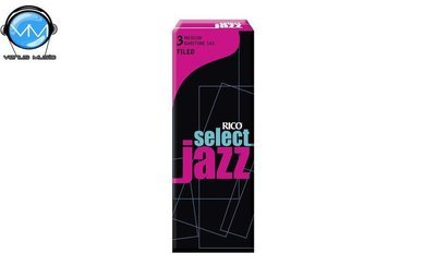 Rico RRSF05BSX3M Select Jazz Cañas Sax Barito. 3M (5)