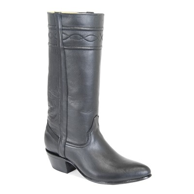 1812 Everyday Black Western Boots