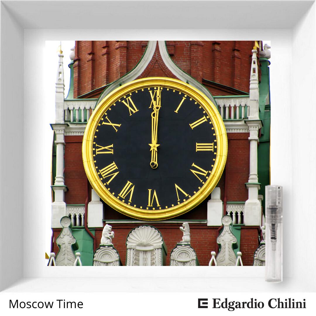 Edgardio Chilini, Moscow Time, citrus green fragrance, 2 ml