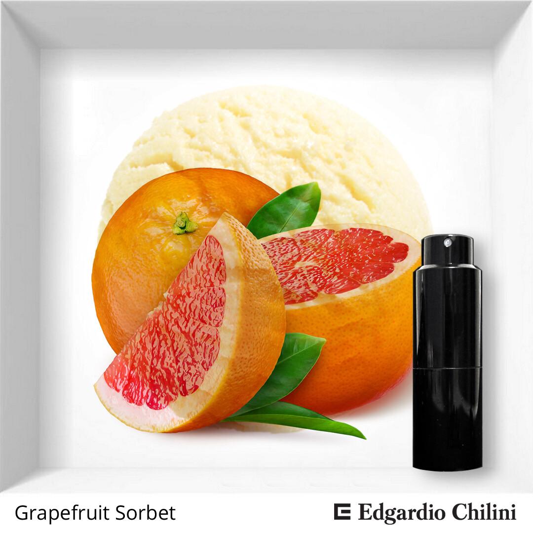 Edgardio Chilini, Grapefruit Sorbet, citrus spicy fragrance