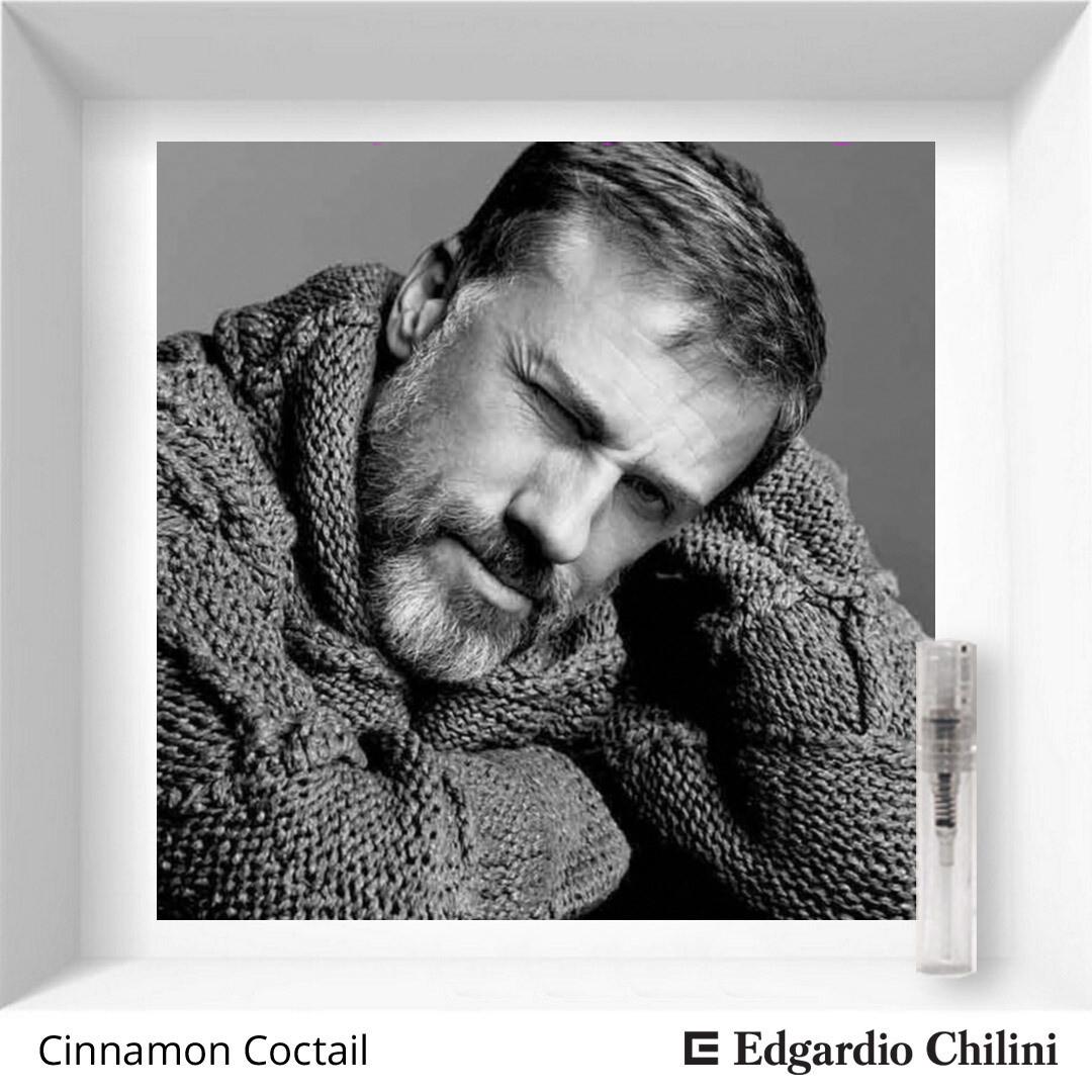 Пряный сладкий аромат Cinnamon Cocktail, Edgardio Chilini, 2 ml