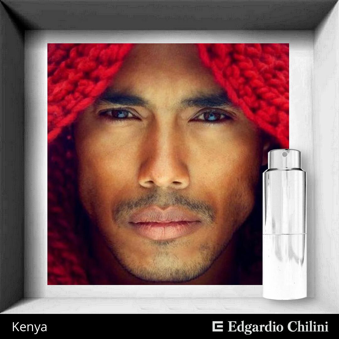 Edgardio Chilini, Kenya, spicy fragrance