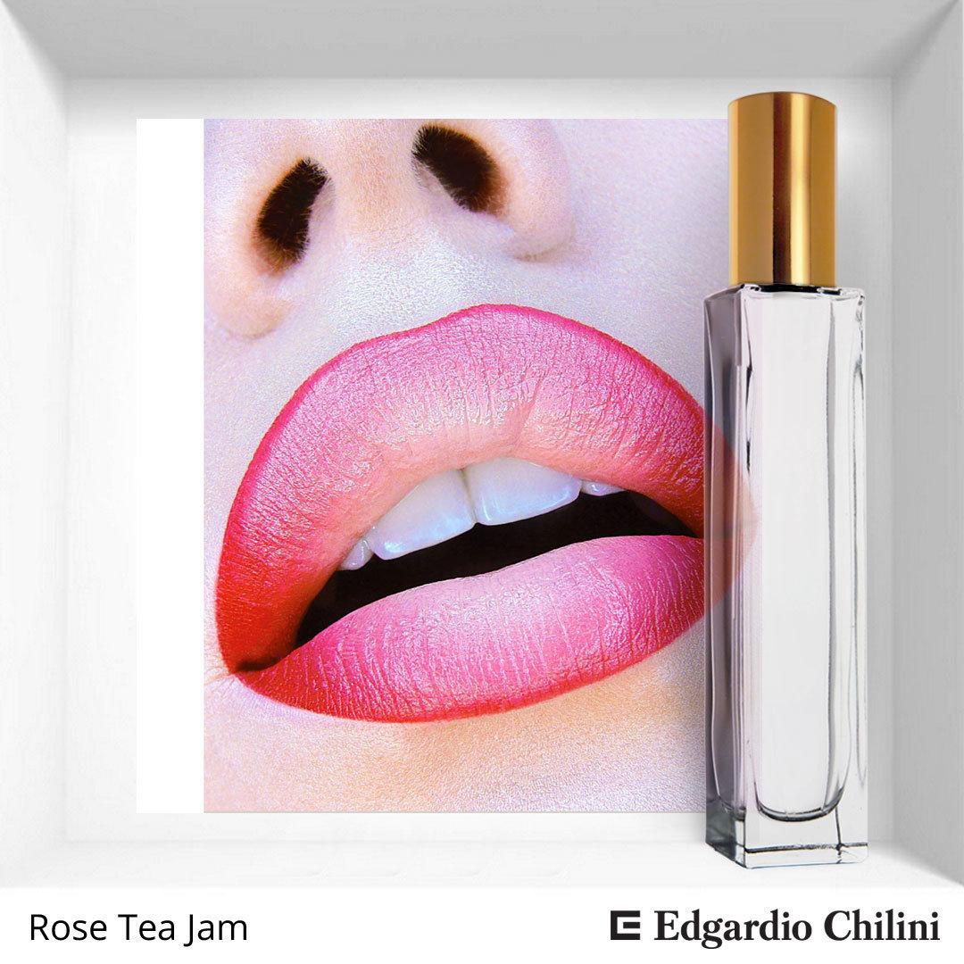 Розовый спрей для дома Rose Tea Jam, room spray, Edgardio Chilini, 50 ml