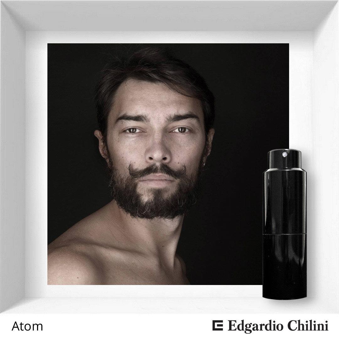 Edgardio Chilini, Atom, energetic woody scent