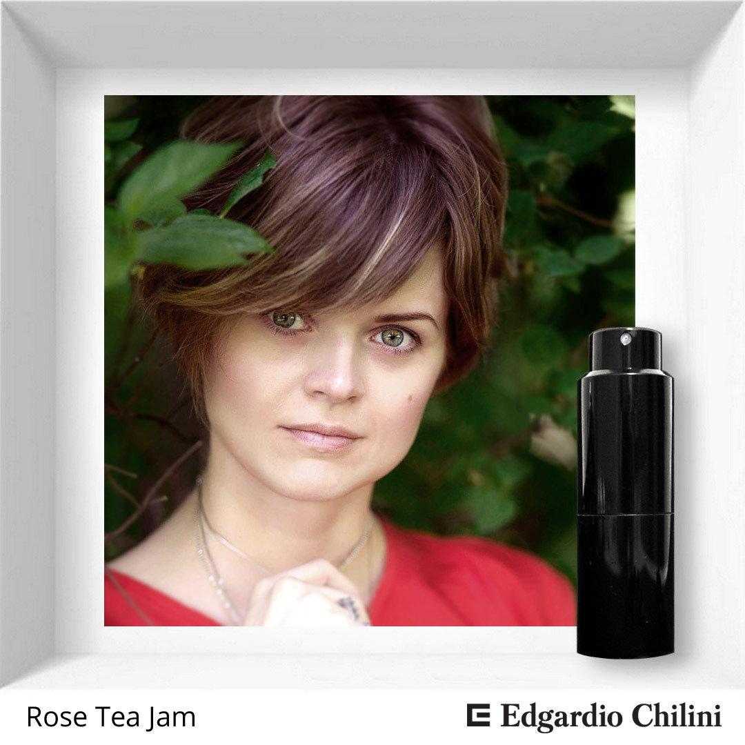 Edgardio Chilini, Rose Tea Jam, caramel rose fragrance