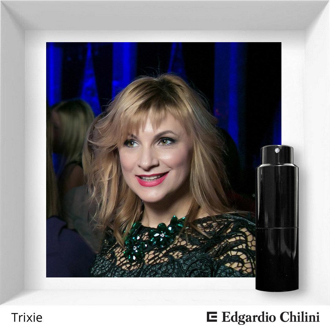 Edgardio Chilini, Trixie, fresh floral fragrance