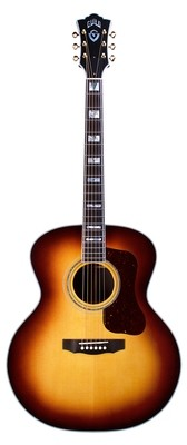 Guild F-55E Antique Burst - Made in the USA. 2019, All Solid, Sitka Spruce top, Indian Rosewood b/s