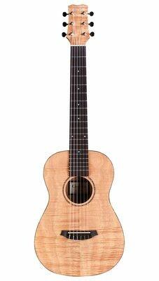 Cordoba Mini II Flamed Mahogany - Acoustic Electric Travel Guitar