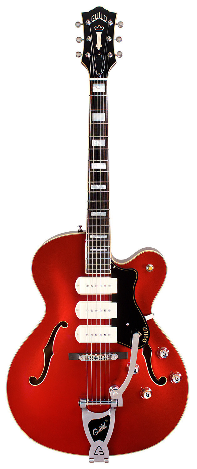 Guild X-350 Stratford - Hollow Body Electric