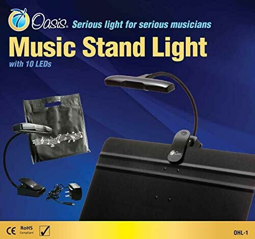 Oasis OHL-1 10 LED Orchestra Music Stand Light