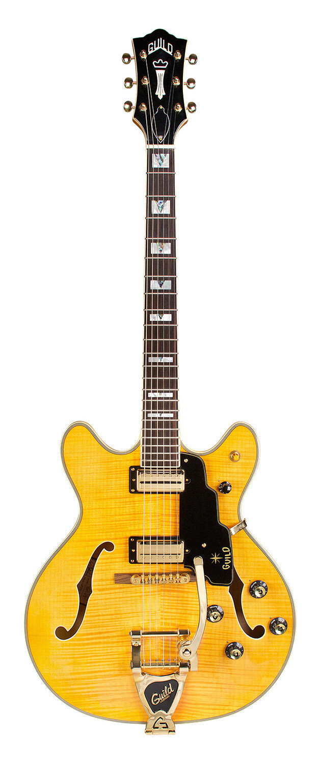 Guild Starfire VI - Blonde Maple - Semi Hollow Body Electric Guitar