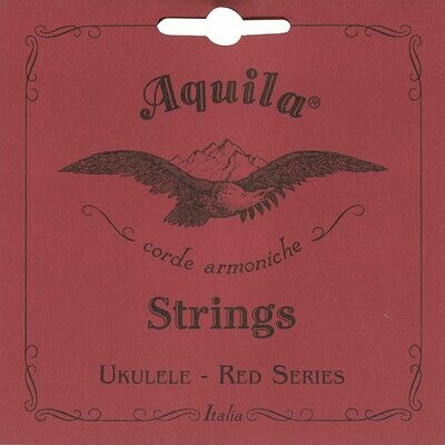 Aquila 88U RED SERIES, Ukulele TENOR Low-G Tuning, Key of C - GCEA (unwound)