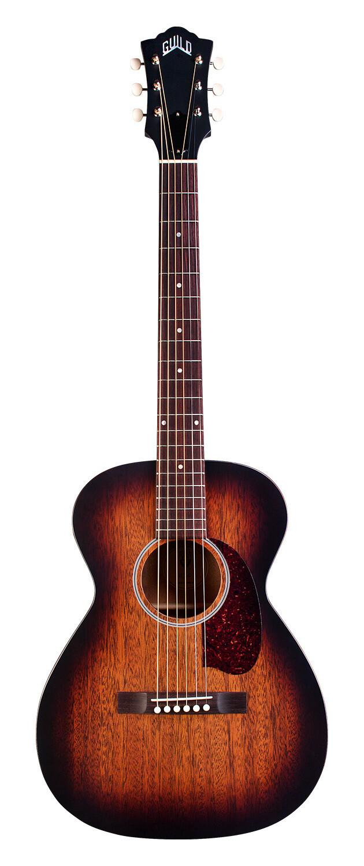 Guild M-20E -  Vintage Sunburst - Acoustic Electric Steel String Guitar - Hand Made in USA
