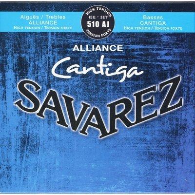 Savarez 510AJ Alliance Cantiga - Classical Guitar Strings, High Tension