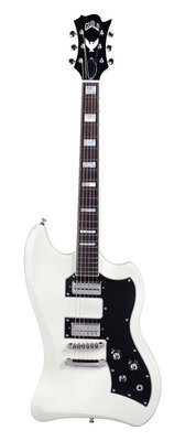 Guild S-200 T-Bird Electric Guitar - Vintage White - Solid Mahogany Body