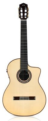 Cordoba GK Pro Negra - Gipsy Kings Signature - Professional Acoustic Electric Flamenco Guitar