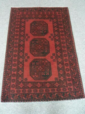 Afghan Tribal Rug - Now Sold