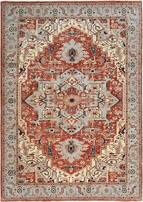 Fine Afghan Rug Heriz Design Sold