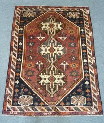 Persian Tribal Rug Sold.