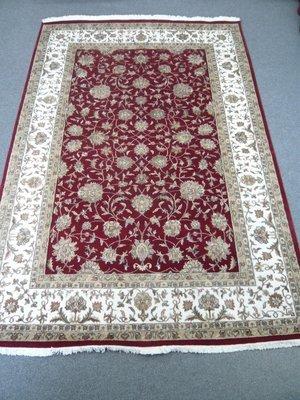 Fine Indian Wool/Silk Rug