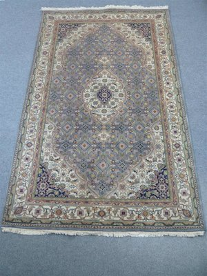 Indian Chakhari Rug Lt Blue/Cream Sold.