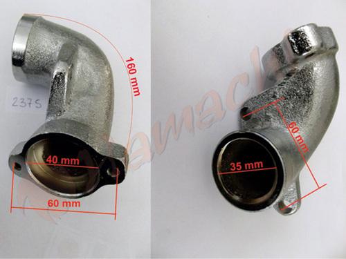 Усисна грана алуминиум 400V