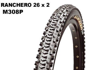 Maxxis Ranchero 26x2.00 M308P Wire