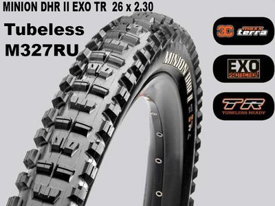 Maxxis Tubeless Minion DHR II + EXO TR Foldable